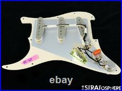 NEW Fender Stratocaster LOADED PICKGUARD Strat Vintage 65 Aged Pearloid 11 Hole