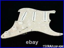 NEW Fender Stratocaster LOADED PICKGUARD Strat Yosemite Aged Pearloid 8 Hole