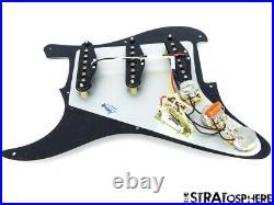 NEW Fender Stratocaster LOADED PICKGUARD Strat Yosemite Black 3 Ply 8 Hole