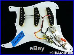 NEW Fender Stratocaster LOADED PICKGUARD Strat Yosemite DARK Brown Tortoise 11