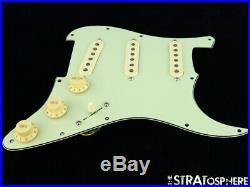 NEW Fender Stratocaster LOADED PICKGUARD Strat Yosemite Mint Green 3 Ply 11 Hole