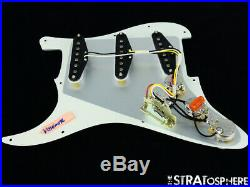 NEW Fender Stratocaster LOADED PICKGUARD Strat Yosemite Parchment 3 Ply 11 Hole