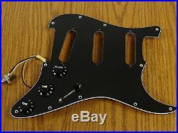 NEW Seymour Duncan BYOP Liberator Strat LOADED PICKGUARD for Stratocaster BLACK