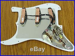 NEW Seymour Duncan YJM Fury for Strat LOADED PICKGUARD Stratocaster Prewired OW