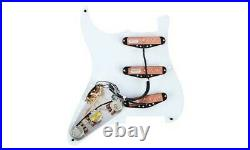 NEW Seymour Duncan YJM Fury for Strat LOADED PICKGUARD WHT Stratocaster Prewired
