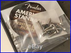 NICE! 2014 Fender USA Strat LOADED PICKGUARD Custom Shop Fat 50's Pickups Guitar