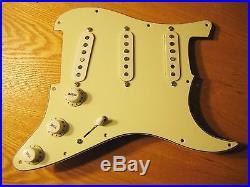 New Fender Loaded Strat Pickguard Custom Shop Abby 69 Mint Green 62 Hole Pattern