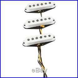 New Fender Loaded Strat Pickguard Custom Shop Fat 60s All Black Made in USA
