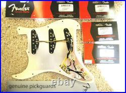 New Fender Loaded Strat Pickguard John Mayer Sig. Big Dipper Pickups Aged Cream