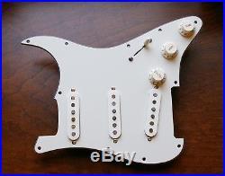 New Fender Robin Trower Tribute Loaded Strat Pickguard Custom Shop All Parchment