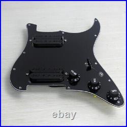 OriPure Loaded HH Pickguard Prewired Alnico 5 Humbucker Pickup For Strat Guitar