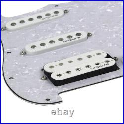 OriPure Loaded Prewired HSS Pick Guard Alnico 5 Pickup For 11 Hole Strat Guitar