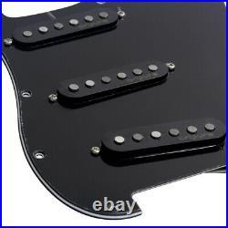 OriPure Prewired SSS Strat Guitar Pickguard Loaded Alnico 5 Single Coil Pickups
