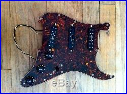 Prewired Strat Pickguard Tortoise Shell Loaded W Seymour Duncan Everything Axe