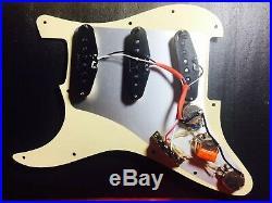 Prewired Vintage Style Loaded SSS Pickguard For Fender Stratocaster Strat USA