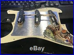 Seymour Duncan APS-1 Loaded Stratocaster Pickguard Strat Vintage Stag. Pole NEW