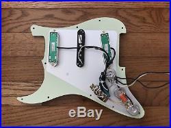 Seymour Duncan Loaded Strat, Loaded Strat Pickguard, Stratocaster pickups