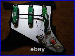 Seymour Duncan Loaded Stratocaster pickguard SL59 SJBJ Humbuckers CTS CRL Strat