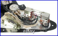Seymour Duncan P-Rails HH Loaded Strat Pickguard White / Black