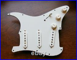Seymour Duncan SSL-1 Loaded Strat Pickguard All Parchment Made US OrAnyColor