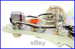 Seymour Duncan SSL-1 Loaded Strat Pickguard Strat BP/WH