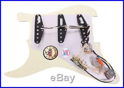 Seymour Duncan SSL-1 Loaded Strat Pickguard Strat MG/WH