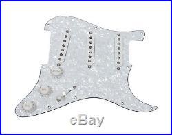 Seymour Duncan SSL-1 Loaded Strat Pickguard Strat WP/WH