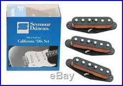 Seymour Duncan SSL-1 Prewired Loaded Strat Pickguard Black on White OrAnyColor