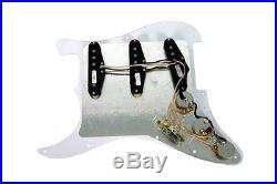 Seymour Duncan SSL-1 Prewired Loaded Strat Pickguard Cream on Black OrAnyColor