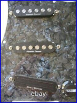 Seymour Duncan SSL-4 Quarter-Pound Loaded/wired Strat Pickguard. CRL & CTS