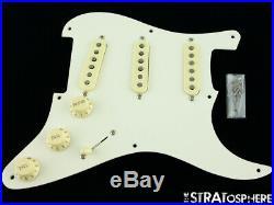 USA Fender ERIC JOHNSON Strat LOADED PICKGUARD Stratocaster American Prewired