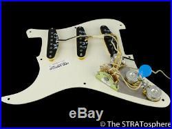 USA Fender ERIC JOHNSON Strat LOADED PICKGUARD Stratocaster, American Prewired