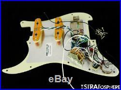 USA Fender Elite HSS Shawbucker Stratocaster LOADED PICKGUARD Strat S1 Noiseless
