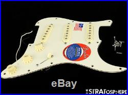 USA Fender JEFF BECK Strat LOADED PICKGUARD Stratocaster Hot Noiseless