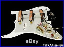USA Fender MALMSTEEN YJM Fury Strat LOADED PICKGUARD Seymour Duncan Stratocaster