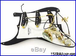 USA Fender SRV Strat LOADED PICKGUARD Texas Specials Stevie Ray Vaughan Parts