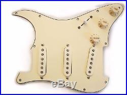 USA Fender Strat Guitar 11 Hole Loaded Pickguard Abby Custom Shop 69 Pickup