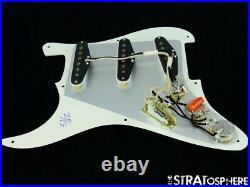 Used Fender Stratocaster LOADED PICKGUARD Strat 57/62 Parchment