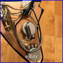 VINTAGE Seymour Duncan SSL-2 Vintage Flat Loaded Prewired Strat Pickguard PIO