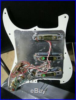 Vintage Fender Strat Plus Lace Sensor Gold Loaded Pickguard Assembly